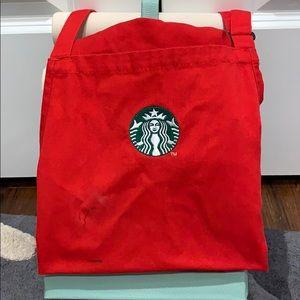 Starbucks Holiday Apron USED (#2)